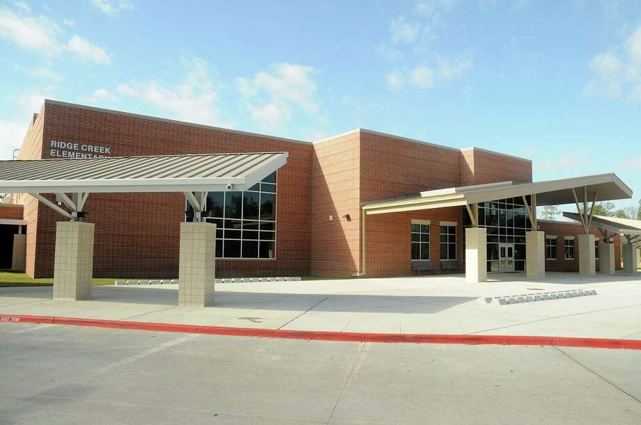 District: Goose Creek ISDSchool: SF Austin ElementaryBack-to-school list cost for fourth-graders: $34.05Expense rank: 49Humble ISD's Ridge Creek Elementary, 15201 Woodland Hills Drive, opened in August and is located not far from the Generation Park mixed-use development. Photo: David Hopper, Freelance / freelance