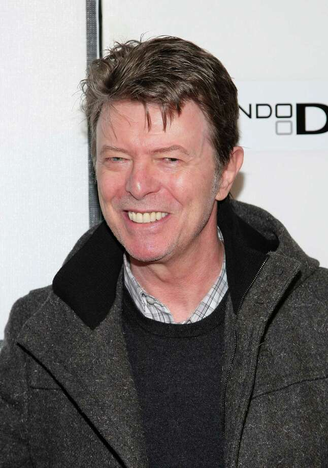 """NEW YORK - APRIL 30:  Musician David Bowie attends the premiere of """"Moon"""" during the 2009 Tribeca Film Festival at BMCC Tribeca Performing Arts Center on April 30, 2009 in New York City.  (Photo by Michael Loccisano/Getty Images for Tribeca Film Festival) Photo: Michael Loccisano / Getty Images North America"""