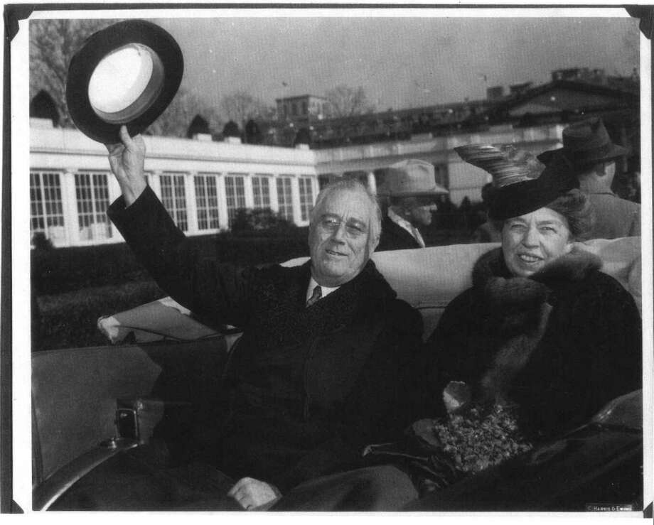 Eleanor Roosevelt knew of her husband's long-time extramarital affair, but stayed with him for the sake of his political career. Photo: JERRY SHOEMAKER, AP