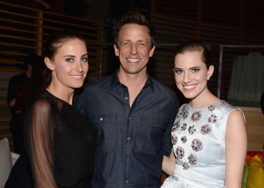 "(L-R) Alexi Ashe, Seth Meyers and Allison Williams attend the ""Girls"" Season Three premier after party at Jazz at Lincoln Center on January 6, 2014 in New York City. Photo: Andrew H. Walker, Getty Images"