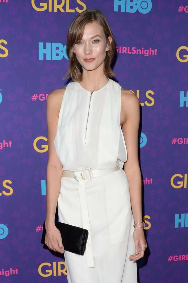 "Model Karlie Kloss attends the ""Girls"" season three premiere at Jazz at Lincoln Center on January 6, 2014 in New York City. Photo: Andrew H. Walker, Getty Images"
