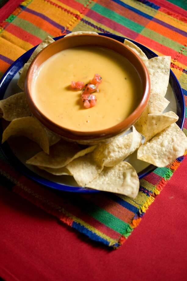 Queso dip at Sylvia's Enchilada Kitchen, 12637 Westheimer in Houston. Photo: Nick De La Torre, Houston Chronicle