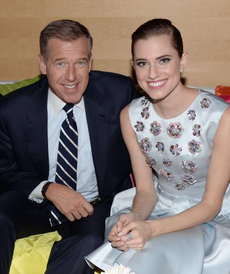 "Brian Williams and Allison Williams attend the ""Girls"" Season Three premiere after party at Jazz at Lincoln Center on January 6, 2014 in New York City. Photo: Andrew H. Walker, Getty Images"