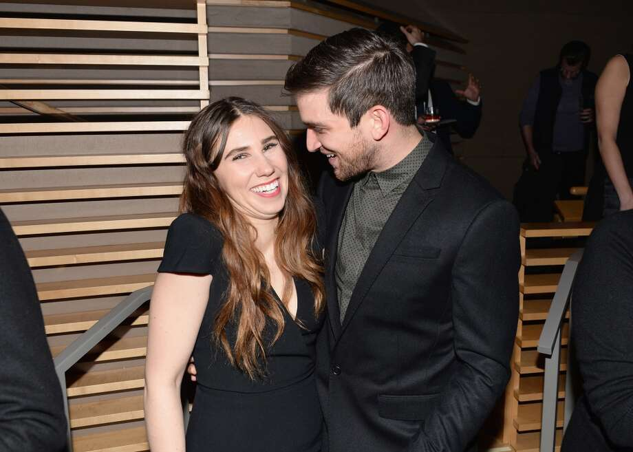 "Actors Zosia Mamet and Evan Jonigkeit attend the ""Girls"" Season Three premier after party at Jazz at Lincoln Center on January 6, 2014 in New York City. Photo: Andrew H. Walker, Getty Images"