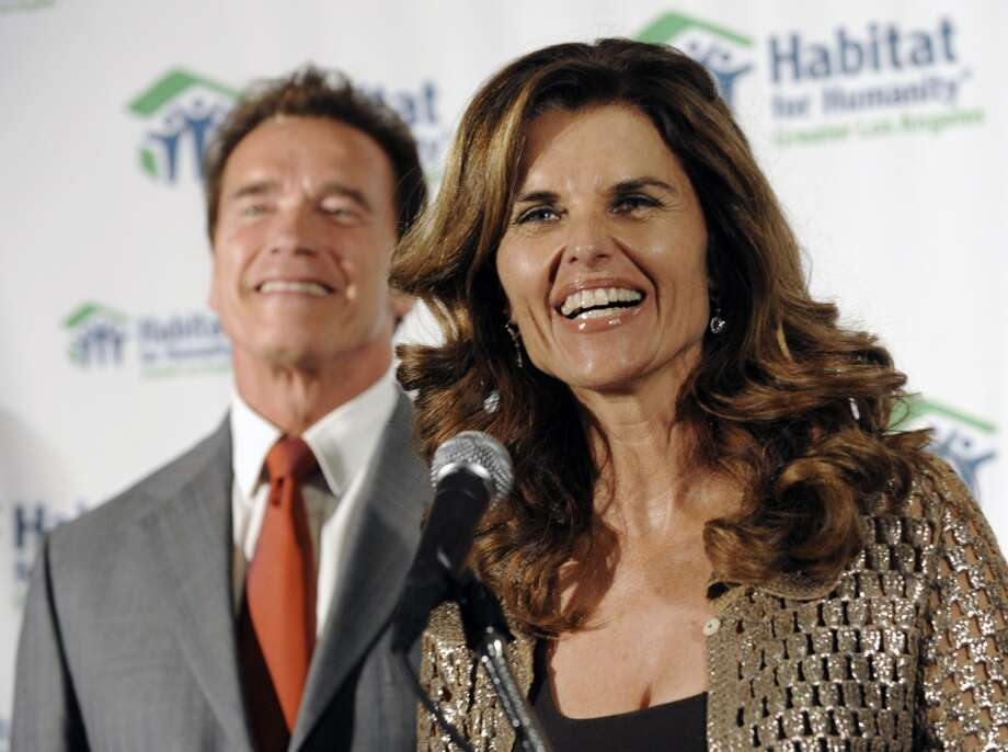 Maria Shriver stood by Arnold Schwarzenegger despite numerous rumors of his infidelities. She left him in 2011. A week later it was revealed he had a child with the housekeeper. Photo: Chris Pizzello, AP