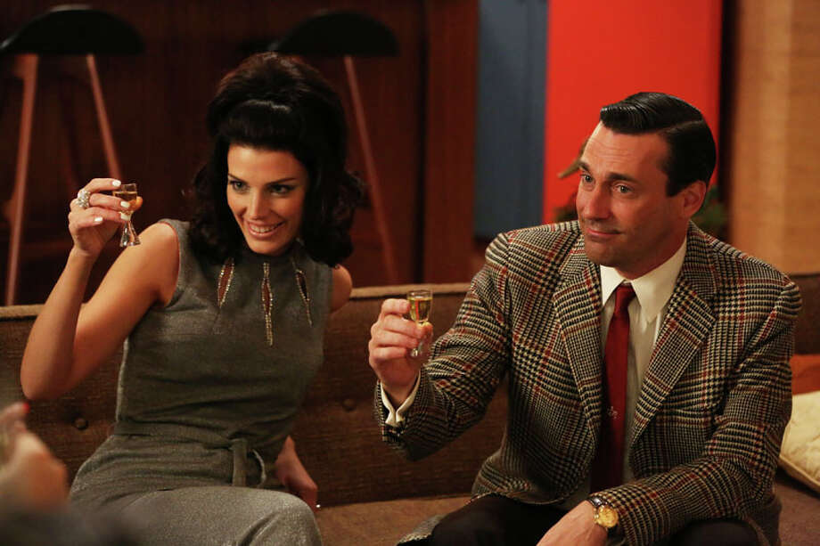 Mad Men (Season 6): Set in 1960s New York, this series takes a peek inside an ad agency in an era when the cutthroat business had a glamorous lure. When the cigarette smoke clears and the martinis are set down, at the center of it all is womanizing ad man Don Draper. Photo: Michael Yarish/AMC