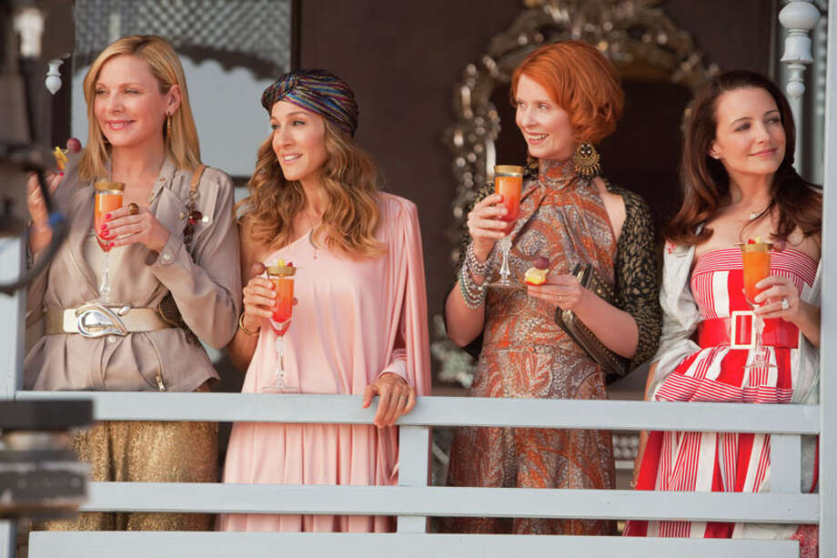 """""""Sex and the City"""" The Cosmopolitan This TV-series-turned-film-franchise is the main reason women order cosmos, and men don't. Photo: Craig Blankenhorn, Warner Bros. Pictures / handout"""