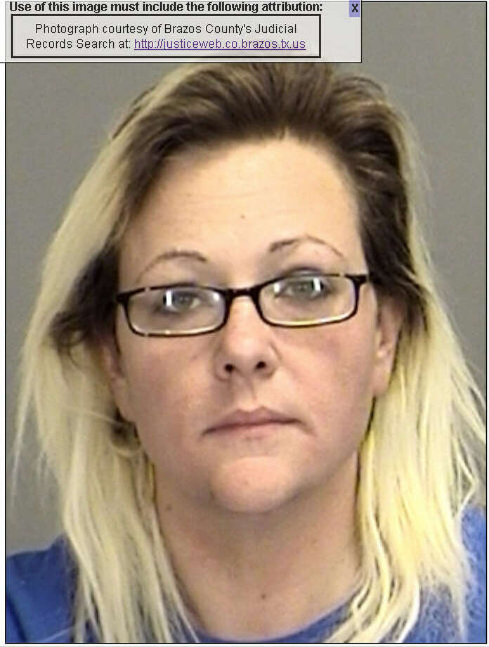 Amber Brune, 30, of College Station, was charged Jan. 5, 2014, with assault on a public servant. Photo: Brazos County Justice Records / ONLINE_YES