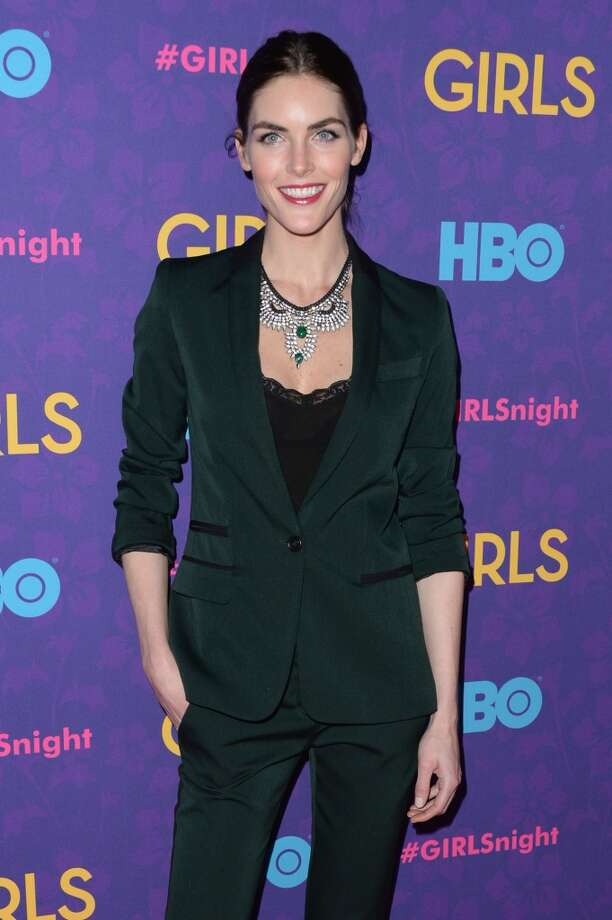 "Model Hilary Rhoda attends the ""Girls"" season three premiere at Jazz at Lincoln Center on January 6, 2014 in New York City. Photo: Andrew H. Walker, Getty Images"