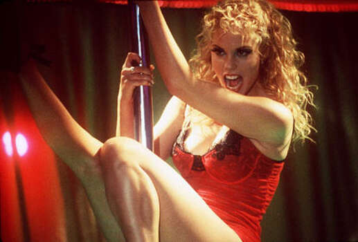 SHOWGIRLS -- a very good suggestion for its very BAD sex scenes, especially the hysterically funny one in the swimming pool. Photo: Getty Images