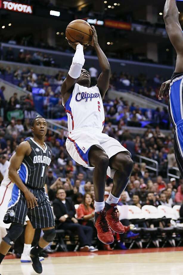 Los Angeles Clippers' Darren Collison shoots the ball against the Orlando Magic during an NBA basketball game in Los Angeles, Monday, Jan. 6, 2014. The Clippers won 101-81. (AP Photo/Danny Moloshok) Photo: Danny Moloshok, Associated Press
