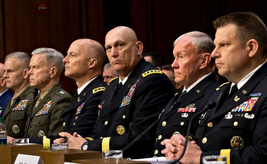 2. Military General (Stress Score: 65.54) Photo: J. Scott Applewhite, Associated Press