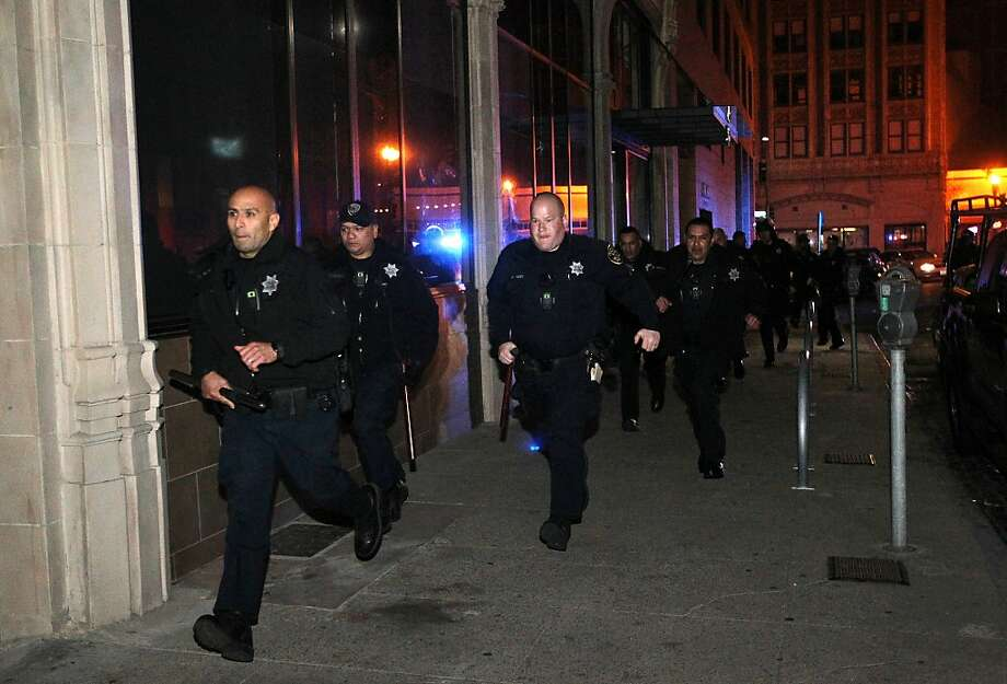9. Police Officer (Stress Score: 46.66) Photo: Leah Millis/SF Chronicle