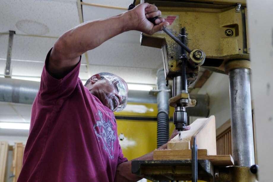 10. Drill-Press Operator (Stress Score: 11.32) Photo: Paul Buckowski, Albany Times Union