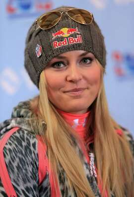 (FILE PHOTO) Skier Lindsay Vonn of the United States has withdrawn from participating in the upcoming 2014 Winter Olympics in Sochi, citing an instability in her injured knee.   VAIL, CO - NOVEMBER 08:  Lindsey Vonn of the U.S. Alpine Ski Team addresses the media during a press conference at Golden Peak on November 8, 2013 in Vail, Colorado.  (Photo by Doug Pensinger/Getty Images)