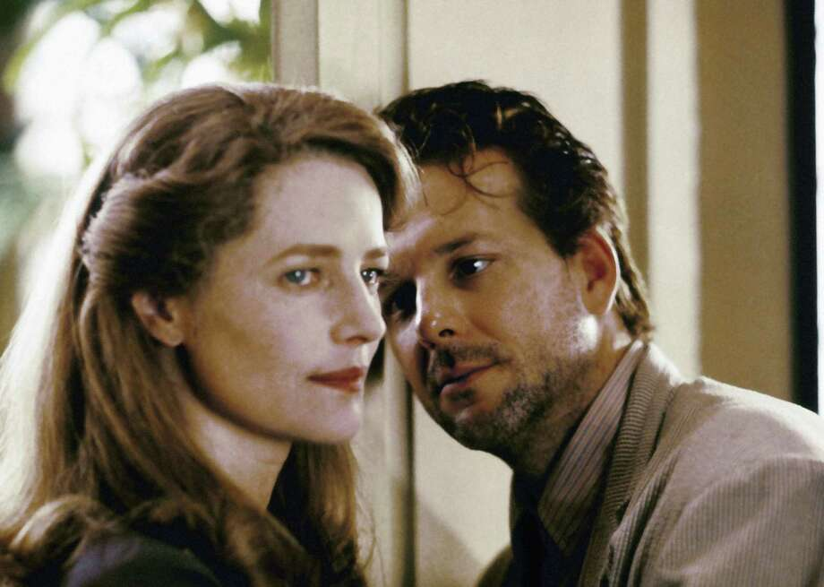 Charlotte Rampling and Mickey Rourke in the film Angel Heart in 1987. Photo: AP
