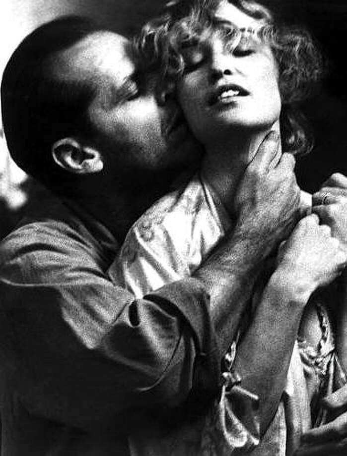 Jessica Lange and Jack Nicholson wrecking the house in their big scene from THE POSTMAN ALWAYS RINGS TWICE.