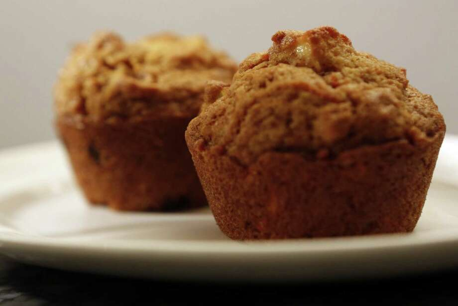 Martha Pendl from Driggs, Idaho, was happy to share her recipe for the morning glory muffins, so you can have a little bit of Idaho at home. (Anne Cusack/Los Angeles Times/MCT) Photo: Anne Cusack, MBR / Los Angeles Times