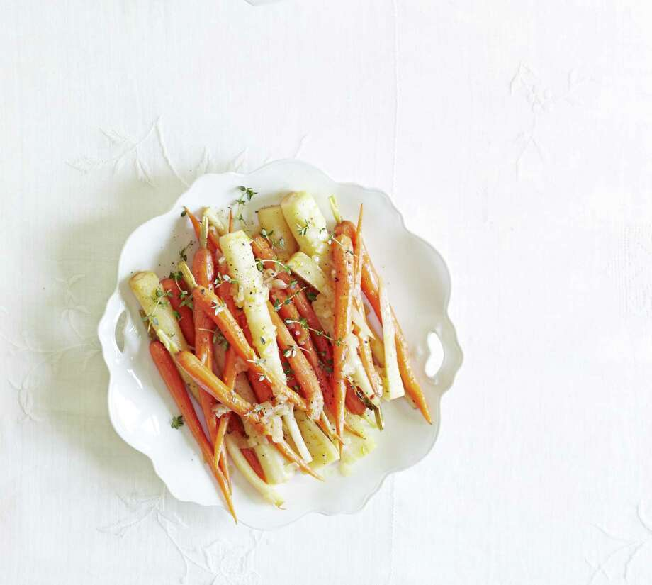Orange-Braised Carrots and Parsnips From Good Housekeeping Photo: Kate Mathis