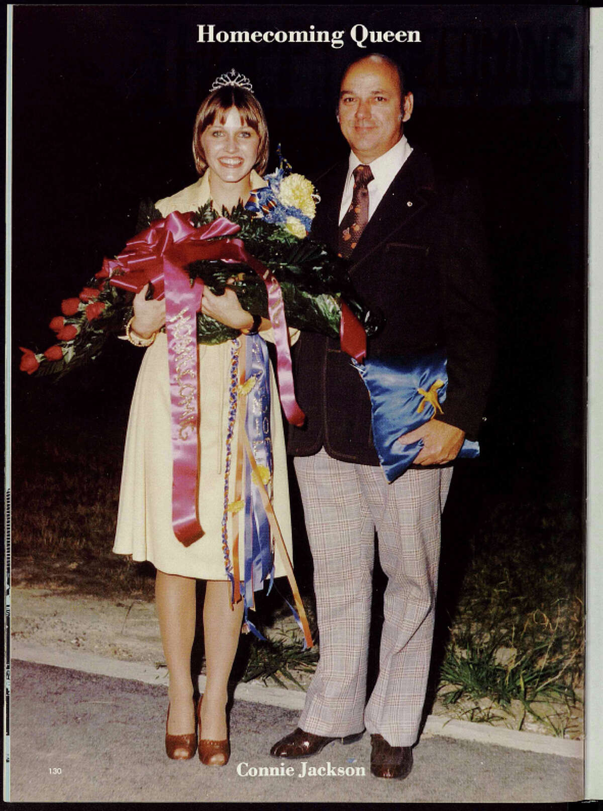 Milby High School is in the process of converting each of the school's yearbooks into an all-digital format. This image is taken from the 1977 edition of the yearbook.