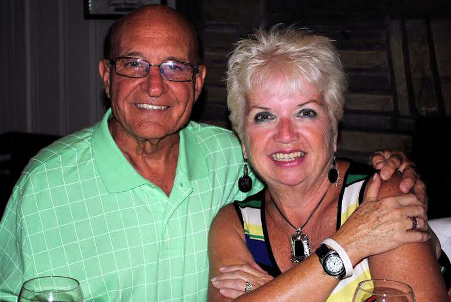 Tom Volpe and his wife Cecilia are both artists in their own regard. Tom is a sculptor and Cecilia paints. Photo: Contributed Photo, Contributed / Darien News Contributed