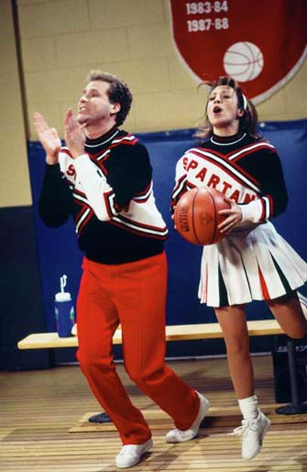 Will Ferrell as Craig Buchanan and Cheri Oteri as Arianna during 'Basketball Game' skit on December 16, 1995 Photo: NBC, NBCU Photo Bank Via Getty Images / 2012 NBCUniversal Media, LLC.