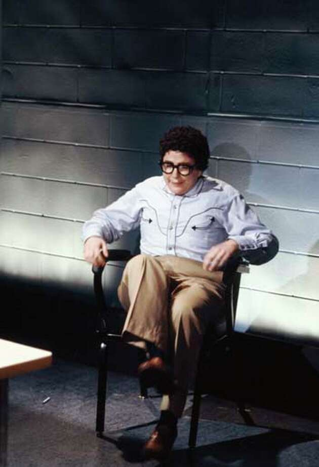 Julia Sweeney as Pat during 'Pat's Interrogation' skit on April 11, 1992 Photo: NBC, NBCU Photo Bank Via Getty Images / 2012 NBCUniversal Media, LLC.