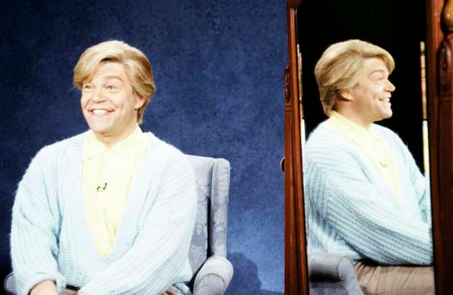 Al Franken as Stuart Smalley during the 'Daily Affirmation' skit on February 13, 1983 Photo: NBC, NBC Via Getty Images / 2012 NBCUniversal, Inc.