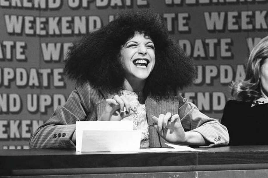 Gilda Radner as Roseanne Roseannadanna during 'Weekend Update' on July 31, 1976 Photo: NBC, NBC Via Getty Images / 2012 NBCUniversal, Inc.