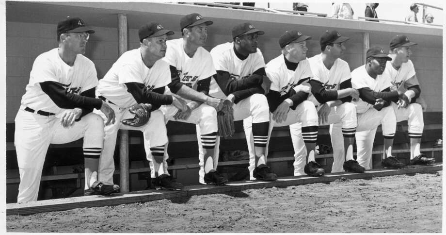 Nellie Fox (second from left)
