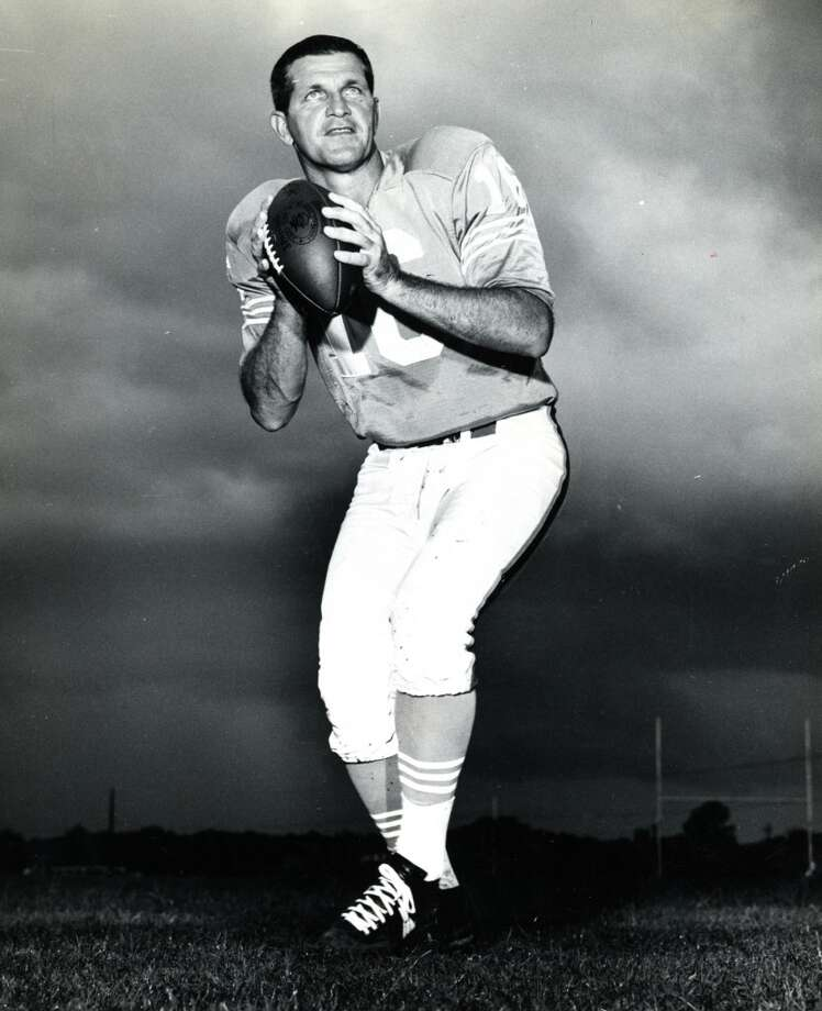 George BlandaPosition: Quarterback-kicker Time with the Oilers: 1960-66 Year of HOF induction: 1981 Helped lead the Oilers to the first two championships in AFL history. Photo: Houston Chronicle File Photo