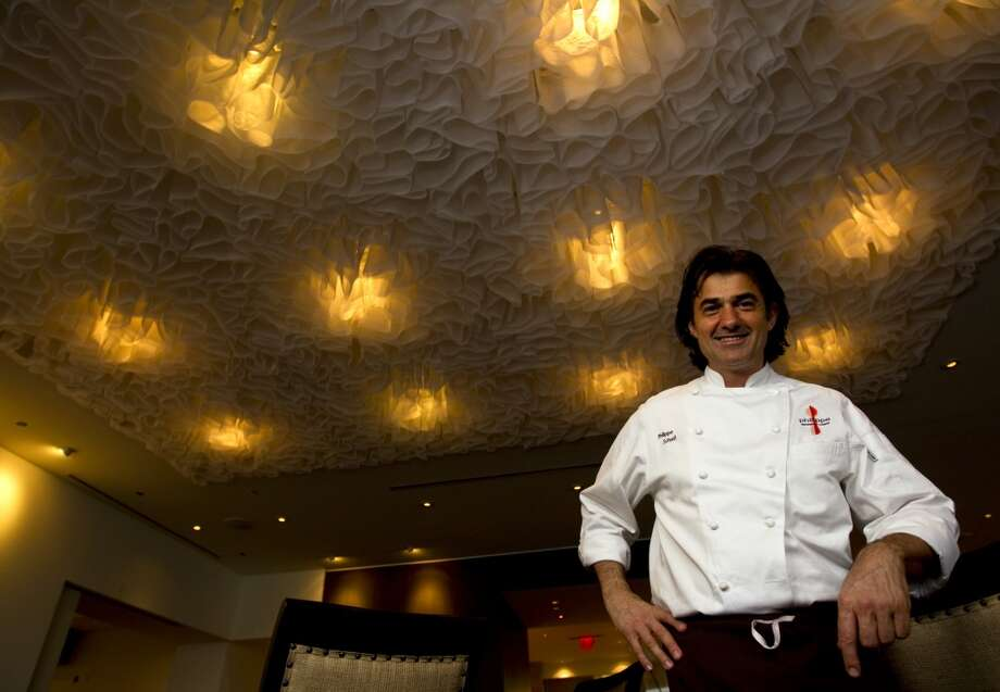 Chef Philippe Schmit at his new Philippe Restaurant and Lounge.  (Karen Warren / Houston Chronicle ) Photo: Karen Warren, Houston Chronicle