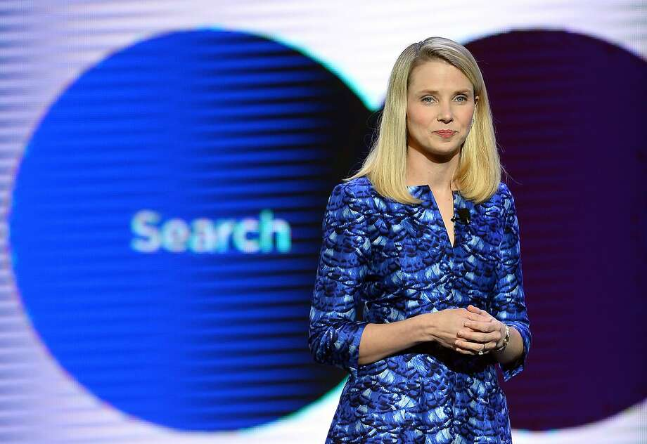 In September, Yahoo! President and CEO Marissa Mayer announced that she was having twins. Photo: Ethan Miller, Getty Images