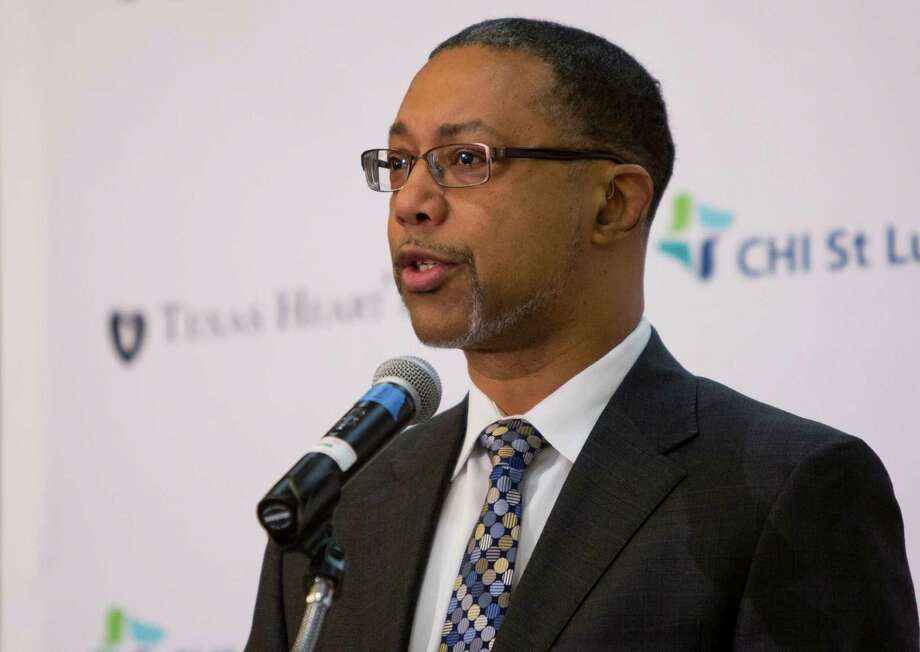Kevin Lofton is president and CEO of Catholic Health Initiatives. He will step down from his role as CEO of CommonSpirit Health, the product of the CHI-Dignity Health merger, in June. Photo: Marie D. De Jesus, Staff / © 2014 Houston Chronicle