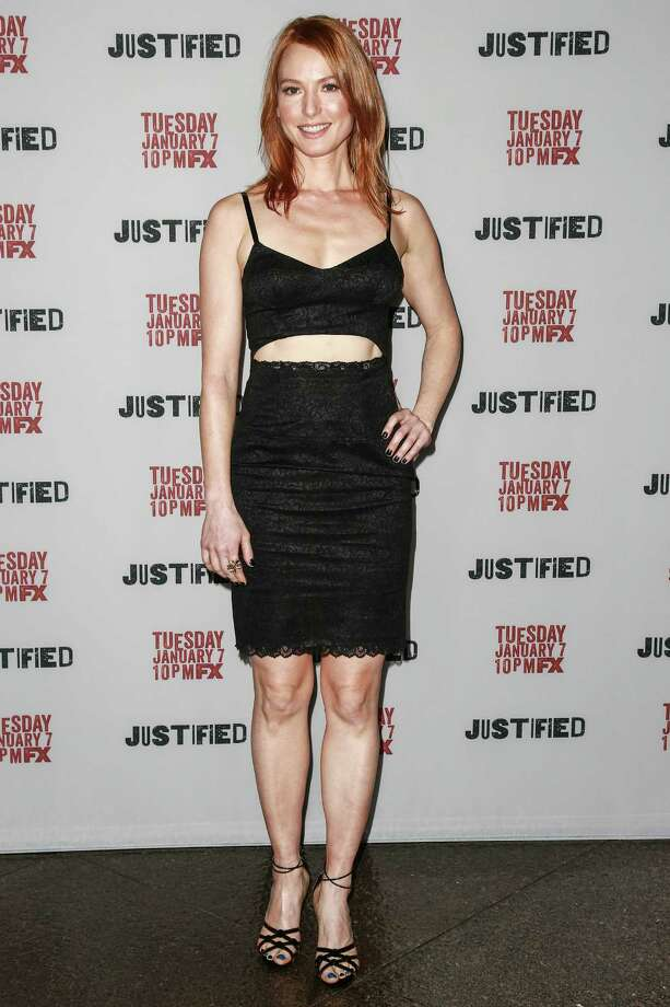 Actress Alicia Witt, aka Wendy Crowe. Photo: Chelsea Lauren, Getty Images / 2014 Chelsea Lauren