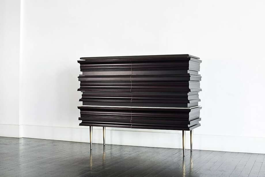 The Frame Low Cabinet from Luis Pons Design Lab, available at the NWBLK, one of the participants in FOG Design+Art. Photo: Fog