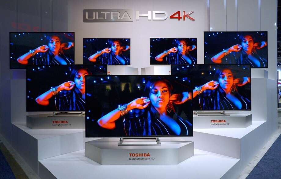 Ultra HD, or 4K, is in its very early stages. The cheapest name-brand manufacturer's model, a 58-inch screen from Toshiba, sells for $2,750. Photo: David Becker, Getty Images