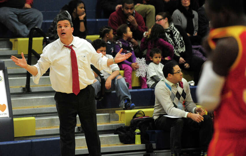 (5) Mr. 300. Behind Ian Oliver's 15 points, Stratford beat Bethel, 65-52. The victory was the 300th in the career of Stratford coach Paul Dudzinski. Congrats, Coach D.