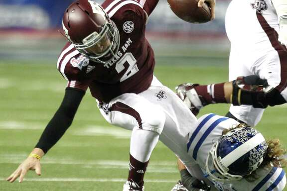 Johnny Manziel may confirm as soon as today that A&M's win over Duke was his last game as an Aggie.
