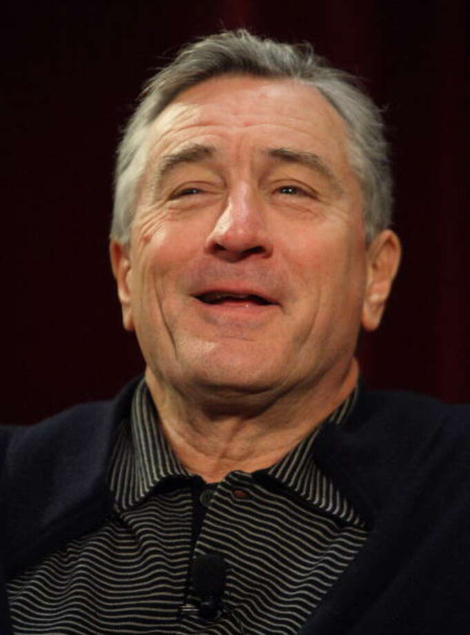 Best Actor in a Bit Role:  Robert De Niro in AMERICAN HUSTLE. Photo: DON EMMERT, AFP/Getty Images / 2008 AFP