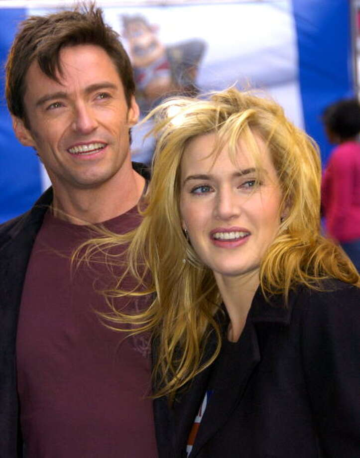 Special Citation for Disgusting But Hilarious Skit:  Hugh Jackman and Kate Winslet in MOVIE 43. Photo: New York Daily News Archive, NY Daily News Via Getty Images / 2006/Daily News, L.P. (New York)