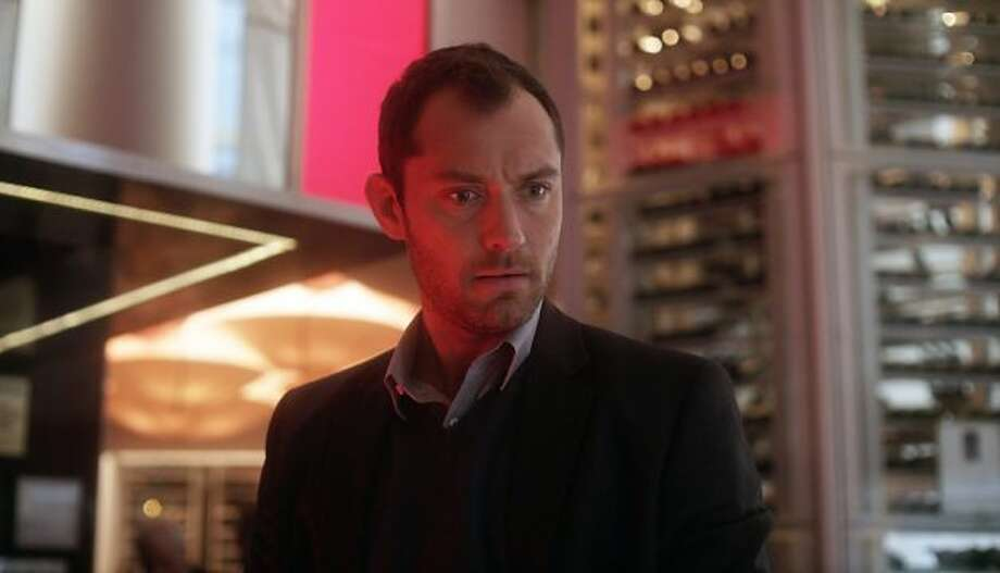 Special Citation for best nervous wreck:  Jude Law in SIDE EFFECTS.