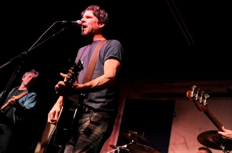 Chris Knight performs at Big Rich Courville's in Beaumont, Thursday, December 1, 2011. Tammy McKinley/The Enterprise