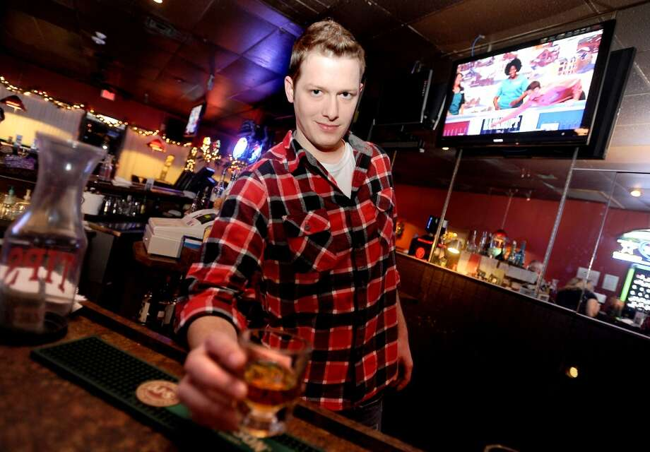 Tim Postlewait of Thirsty's in Beaumont is the Cat5 Bartender of the Week. Tammy McKinley/The Enterprise