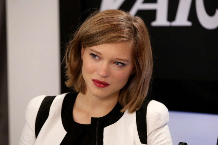 Best supporting Actress:  Lea Seydoux in BLUE IS THE WARMEST COLOR. Photo: Jonathan Leibson / 2013 Getty Images