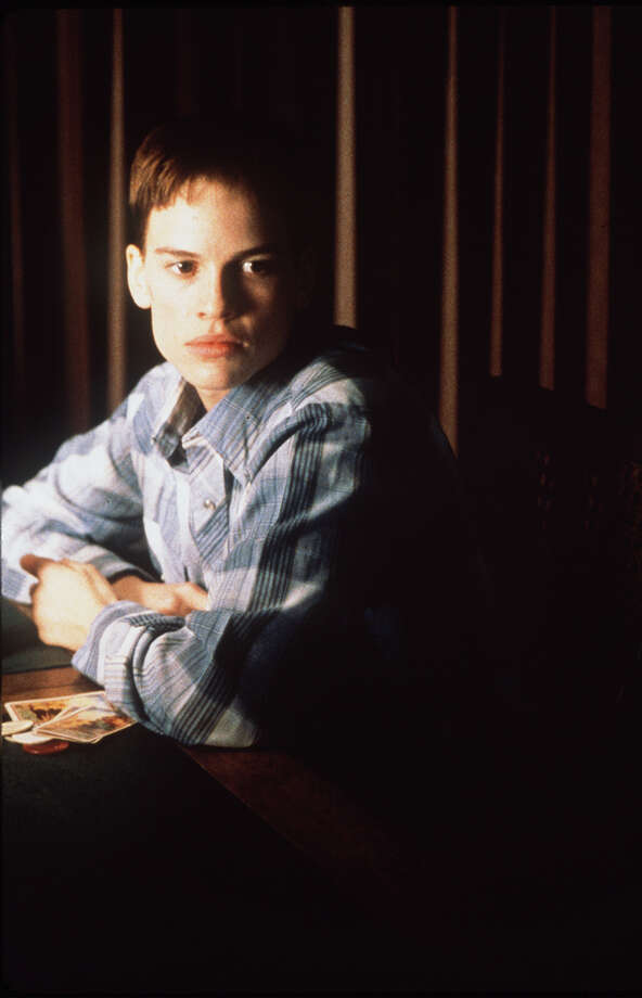 "Hilary Swank. Birthday: July 30, 1974. She's pictured in ""Boys Don't Cry"" in 1999.  Photo: Fox Searchlight Pictures, SFC"