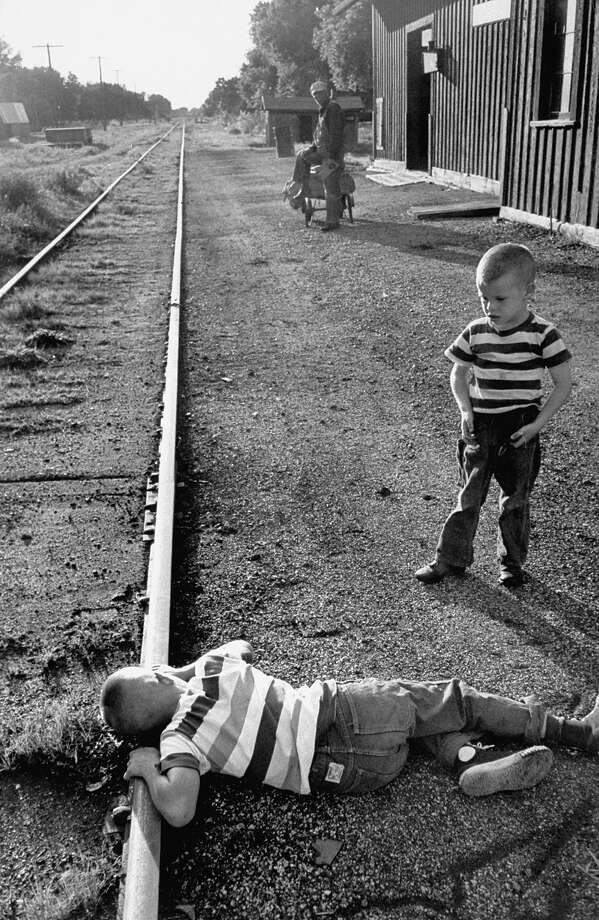 Playing on the tracksFederal Railroad Administration data only goes back to 1975, but since then annual pedestrian fatalities on railroad tracks have decreased by 50%. Photo: Walter Sanders, Time & Life Pictures/Getty Image / Time Life Pictures