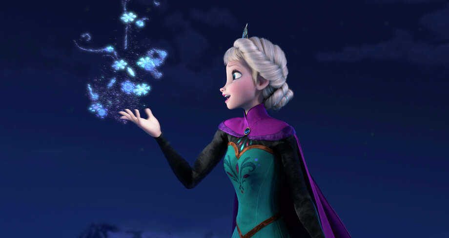 "Elsa the Snow Queen is voiced by Idina Menzel in ""Frozen."" Photo: Daram, HOEP / Disney"