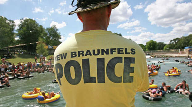 New Braunfels police are cracking down on noise, volume drinking devices and Jell-O shots on the Comal River, the shorter of the two tubing rivers that run through this city about 30 miles northeast of San Antonio. The City Council has upped to $500 the maximum fine for violating a noise ordinance that says music from stereos shouldn't be heard more than 50 feet away. It also banned beer bongs and is considering more bans on evening noise and Jell-O shots.  About 70 percent of the city's annual tourism revenue comes during the summer months, most from water recreation.
