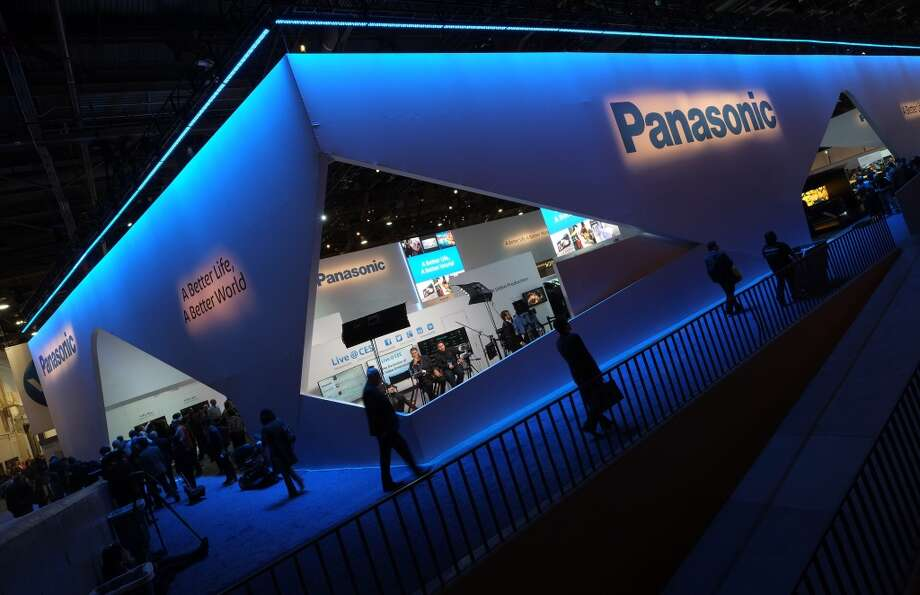 The Panasonic booth is seen during the 2014 International CES at the Las Vegas Convention Center on January 7, 2014 in Las Vegas. Photo: AFP/Getty Images